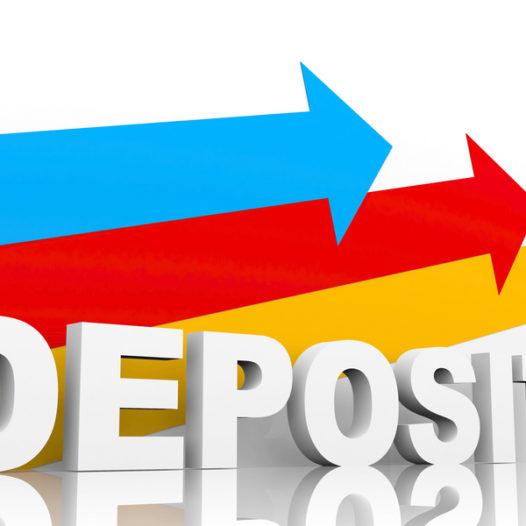 Deposit Transmittal Update