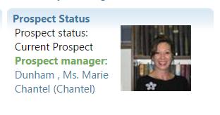 New Prospect Status (custom) Tile